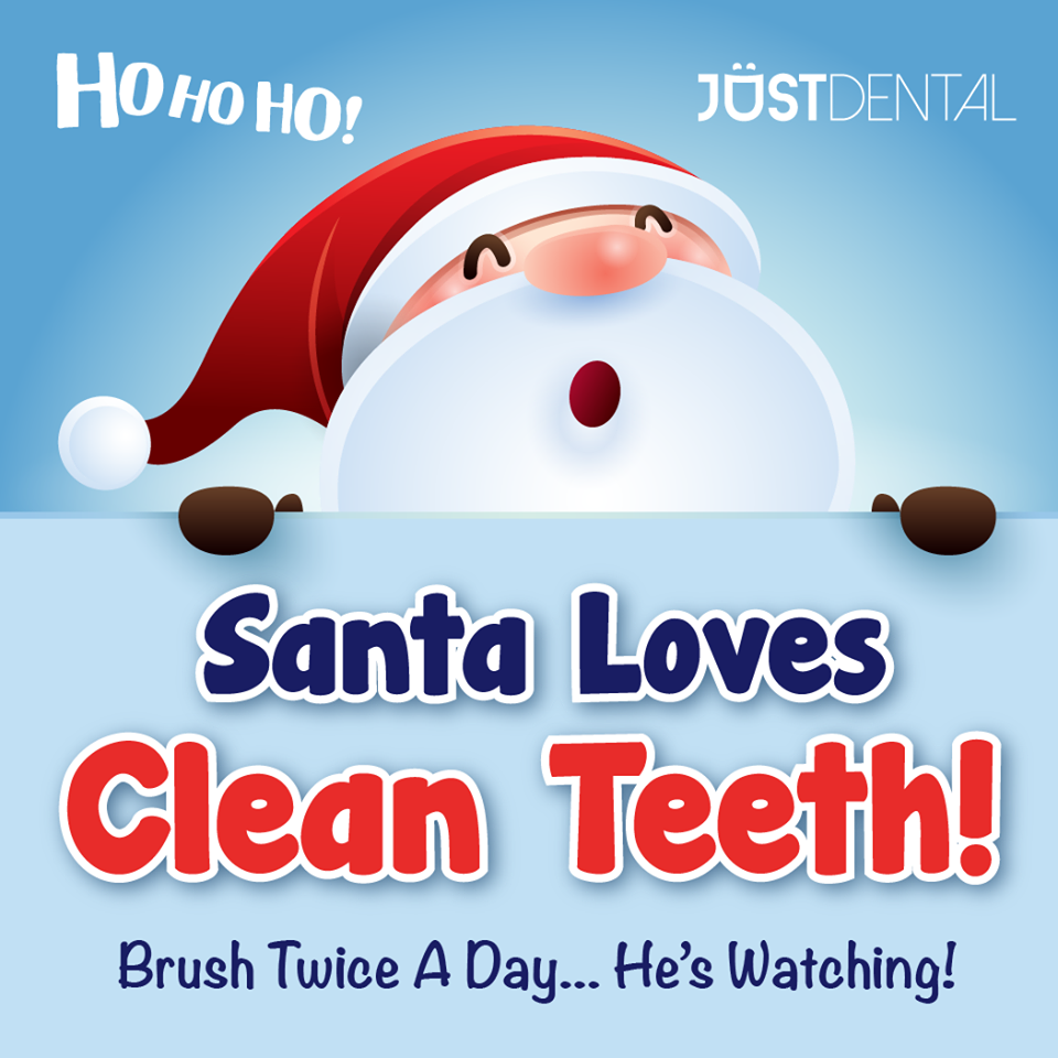 Santa Loves CLEAN TEETH!!