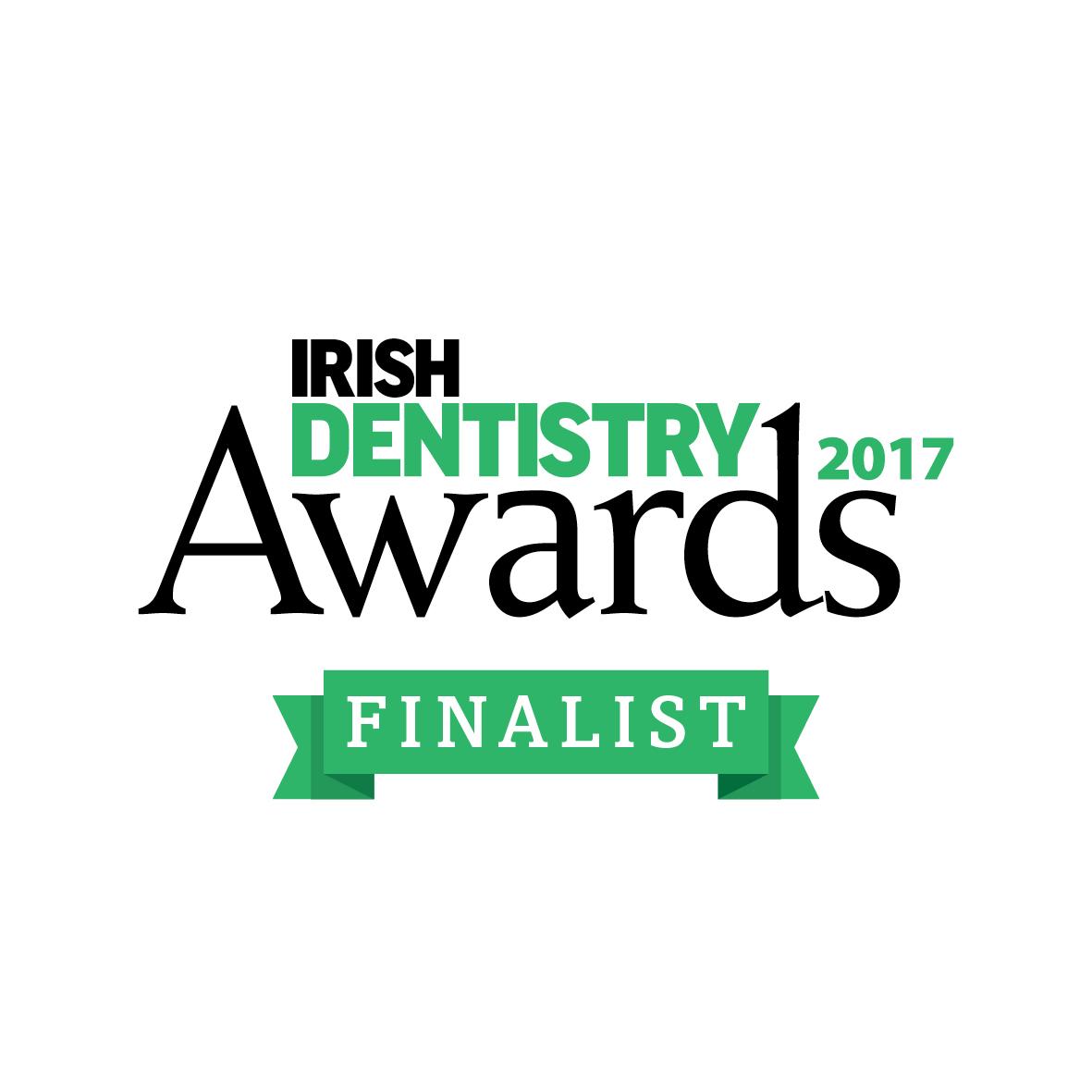 IRISH DENTISTRY AWARDS 2017 FINALIST!